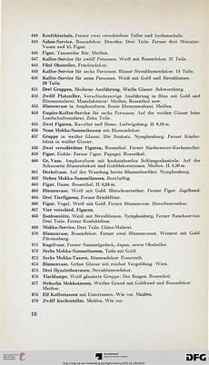 Rosenthal Figuren Verzeichnis - kunst und auktionshaus franz a menna hrsg zimmer
