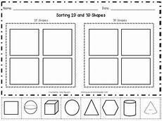 sortng 2d and 3d shapes math ideas 2d 3d shapes kindergarten math math classroom