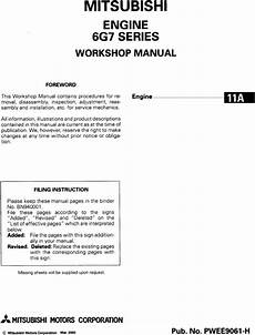 small engine repair manuals free download 1993 plymouth grand voyager parking system mitsubishi 6g7 6g71 6g72 6g73 engine workshop manual tradebit