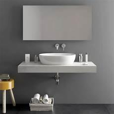 mensole in bagno top mensolone bagno sospeso da 120 cm per lavabi d