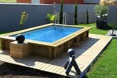 fabricant de piscine en bois hors sol ouest lyonnais les