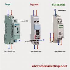 Contacteur Jour Nuit Schneider 25a Goulotte Protection