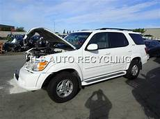 how cars engines work 2002 toyota sequoia navigation system parting out 2002 toyota sequoia stock 4104gy tls auto recycling