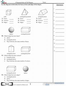 shapes worksheets free commoncoresheets