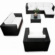 23 Tlg Rattan Lounge Ausverkauf Xxxl Anthrazit