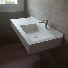 lavabo bagno corian bagni in dupont corian 174 effedi