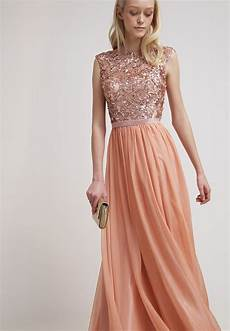 zalando kleider festlich luxuar fashion ballkleid apricot zalando de 3