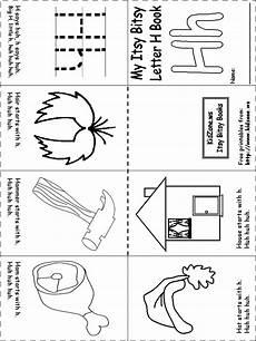 beginning letter sounds worksheet preschool letter h ideas pinterest
