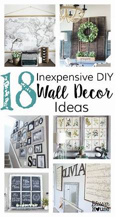 Wall Cheap Diy Home Decor Ideas Diy by 18 Inexpensive Diy Wall Decor Ideas Bless Er House