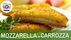 mozzarella carrozza mozzarella in carrozza golosa