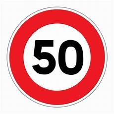 limitation de vitesse panneau limitation de vitesse 50 km h direct signal 233 tique