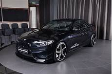 sapphire black bmw m2 is all in what ac schnitzer is selling