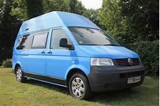 Volkswagen T5 Hochdach Fernweh Reisemobiles Webseite