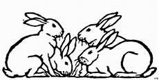 Malvorlagen Hasen Xxi 4 Hasen Ausmalbild Malvorlage Tiere