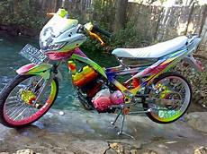 Variasi Motor Fu by Modifikasi Satria Fu Colour Modif Motor