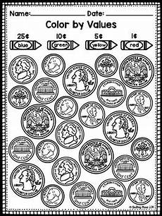 money identifying worksheets 2194 identifying coins coloring worksheet by tpt