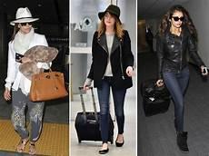 tenue de voyage les tenues de voyage des pour prendre l avion