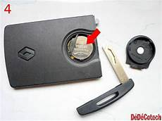 Changer La Pile De La 1 232 Re Carte Renault Tuto