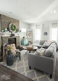 home decor ideas living room 2017 home tour the diy