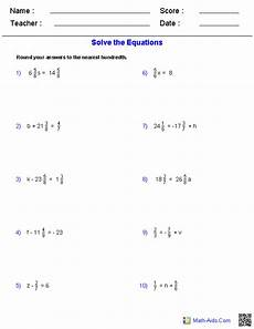 decimals equations worksheet 7116 pre algebra worksheets equations worksheets algebra worksheets equations math worksheets