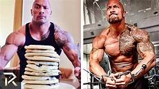Dwayne Johnson S Diet And Workouts That Make Him