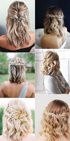 medium length wedding hairstyles wedding hairstyle 20 medium length wedding hairstyles for 2019 brides wedding hair down wedding hair side