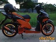 Vario Techno Modif by Modif Motor Modifikasi Honda Vario Cbs Techno