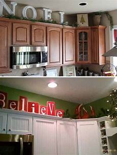 Home Decor Ideas Kitchen Cabinets by 20 Stylish And Budget Friendly Ways To Decorate Above