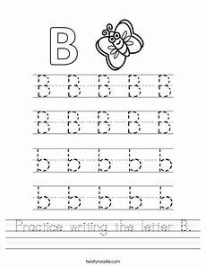 letter b writing worksheets 24032 practice writing the letter b worksheet twisty noodle letter b worksheets