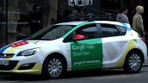 Google Maps Street View Car Voiture  Paris 9 Juillet 2014