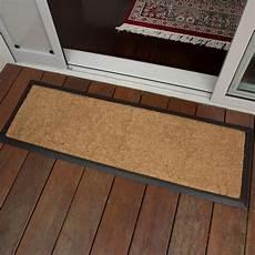 Door Outdoor Mat doormat 40x120cm plain coir heavy duty door mat