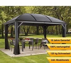 Gartenpavillon Metall 4x4 - sojag aluminium pavillon gazebo moreno 10x14 inkl