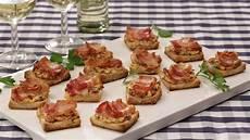 häppchen rezepte einfach schnell fingerfood bacon tomaten frischk 228 se h 228 ppchen