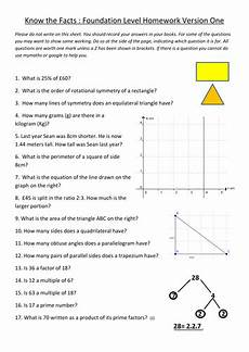 gcse maths revision worksheets by ntsecondary teaching