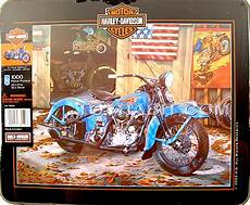 Harley Davidson Puzzles 1000 Pieces by Harley Davidson Motorcycles Collectible Tin Boxed Puzzle