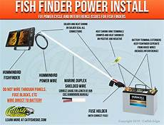 fishfinder wiring fix fish finder power cycle and interference issues easy