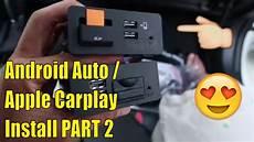 New Mazda Android Auto Car Play Install Part 2