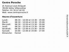 ᐅ Centre Porsche Horaires D Ouverture 21 Avenue Louis