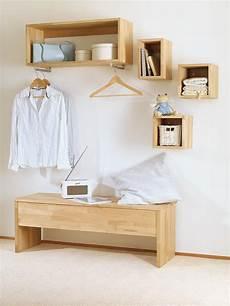 Garderobe Selber Machen - garderobenbank selber bauen selbst de