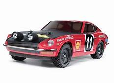 Tamiya 1/10 Datsun 240Z Rally Car W/TT01E Chassis Kit