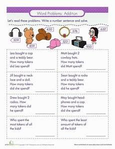 2 step word problems worksheets 2nd grade 11434 word problems addition word problems math word problems second grade math