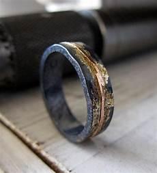 mens wedding band rustic wedding band mens wedding ring