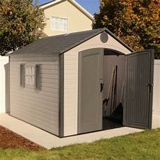 Garage Doors 8 X 10 Price by Lifetime 60056 8 X 10 Storage Shed On Sale With Fast
