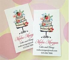 bakery name card template personalized business cards custom business cards bakery