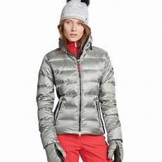 bogner lenja d in silver womens silver ski jacket