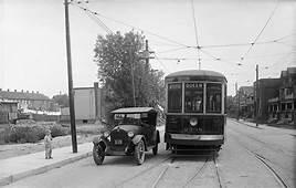 Toronto Transit Co Car No 2438 Queen Woodbine