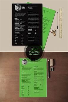 free ultra minimal resume template psd curriculum vitae modern resume template graphic