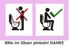 3 x bitte im sitzen pinkeln toiletten bzw wc aufkleber