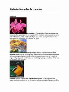 simbolos naturales tachira s 237 mbolos