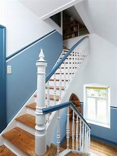 Farben Treppenhaus Beispiele - landhausstil treppen ideen f 252 r treppenaufgang
